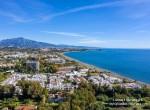 Villacana y la Costa del Sol desde el aire