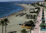Paseo marítimo y playa de Estepona