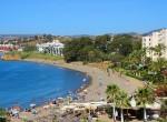 Playa de El Cristo en Estepona