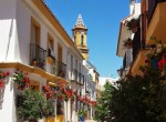 Preciosa calle del centro de Estepona