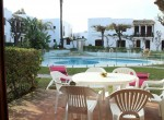 Silvia 7 Terrace overlooking swimming-pool [1600x1200]