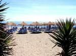 1. Beach and Sunbeds